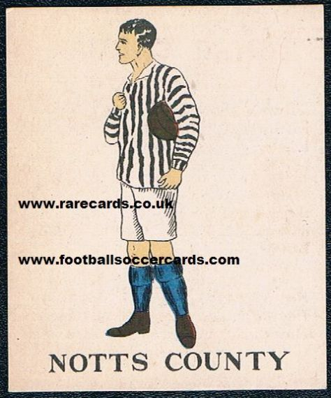 1924 Notts County Battocks 3rd type